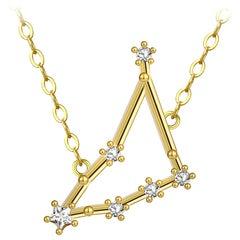 Capricorn Star Constellation Necklace