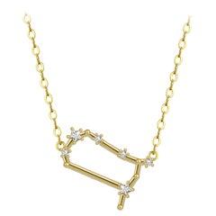 Gemini Star Constellation Necklace