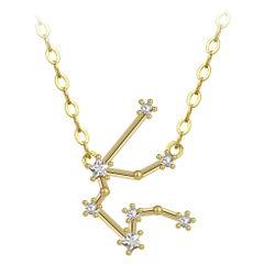 Aquarius Star Constellation Necklace