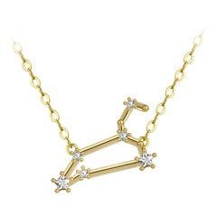 Leo Star Constellation Necklace