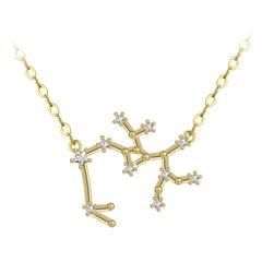 Sagittarius Star Constellation Necklace