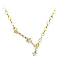 Aries Star Constellation Necklace