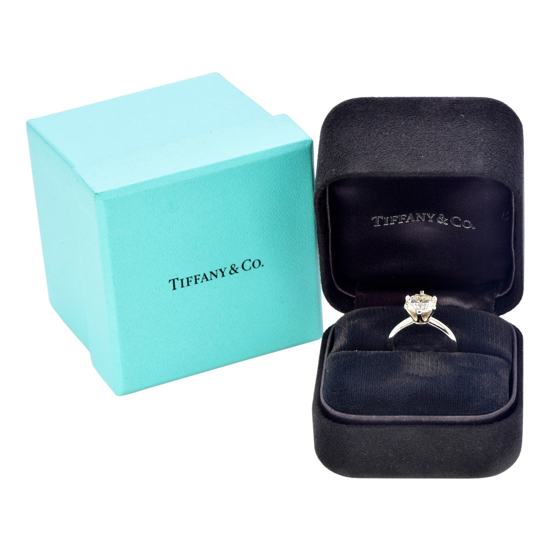 Tiffany & Co. 2.53ct I-VS1 Diamond Platinum Solitaire Engagement Ring