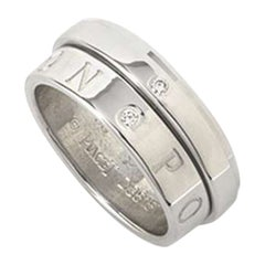 Piaget White Gold Diamond Eccentric Possession Ring