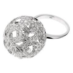 Boucheron High Jewelry Diamond Cocktail Ring