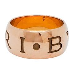 Estate Bulgari 18k Rose Gold Ring