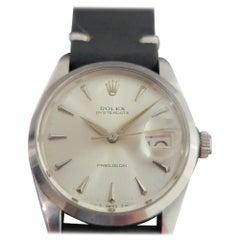 Mens Rolex Oysterdate Precision Ref 6694 Hand-Wind 1960s Vintage RA210