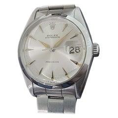 Mens Rolex Oysterdate Precision Ref 6694 Hand-Wind 1960s Vintage RA222