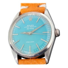 Mens Rolex Oyster Precision Air-King Ref 1005 Automatic 1960s Swiss RA173