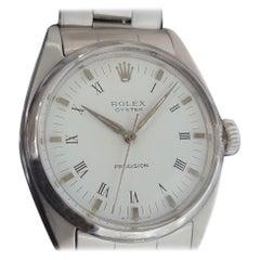 Mens Rolex Oyster Precision Ref 6426 Hand-Wind c1960s Swiss Vintage RA183