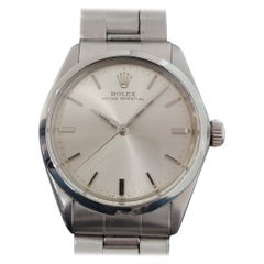 Mens Rolex Oyster Perpetual Ref 5552 Automatic 1960s Swiss Vintage RA232