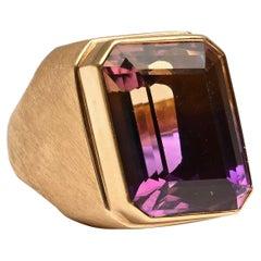 Burle Marx Ametrine Gold Ring