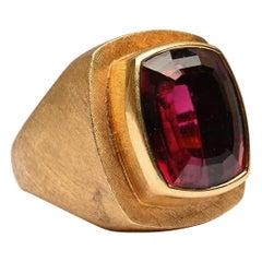 Burle Marx Large Rubelite Ring