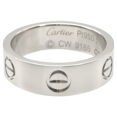 Cartier Platinum PT950 Love Ring