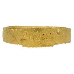 Ancient Roman Gold Ring, circa 306-337 AD