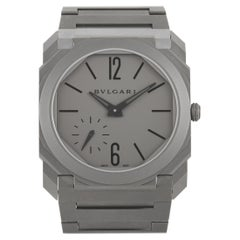 Bvlgari Octo Finissimo Extra Thin Grey Watch 102713