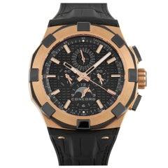 Concord C1 Perpetual Calendar Chronograph Rose Gold Watch 01.6.52.1086