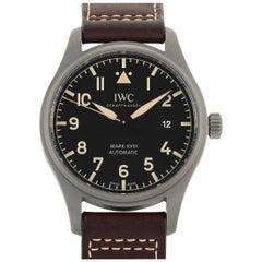 IWC Pilot Mark XVIII Heritage Titanium Watch 327006