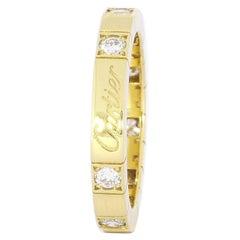 Cartier Lanières Yellow Gold 0.36 Carat Diamond Band Ring