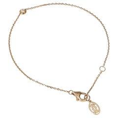 Cartier 18kt Rose Gold Bracelet with Diamond