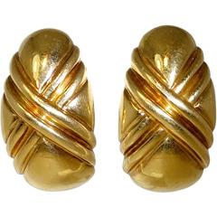 Bulgari Gold Earrings