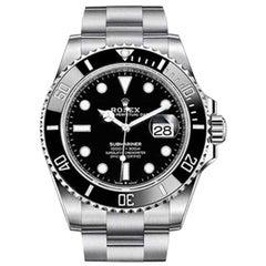 Rolex Submariner Date Black New 126610LN