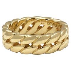 David Yurman Yellow Gold Men's Ring
