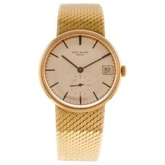Patek Philippe Calatrava Automatic Wrist Watch Ref. 3514/8 18 Carat Yellow Gold