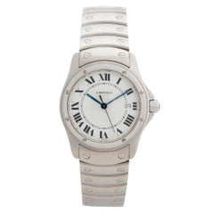Classic Cartier Santos Ronde Ref 1561 'Discontinued', Outstanding Condition