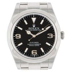 Rolex Explorer Black Dial Oyster Bracelet 214270