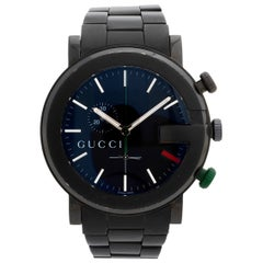 Unusual Gucci ref 101M Red/Green Gucci Dial, Box & Papers, Excellent Condition.