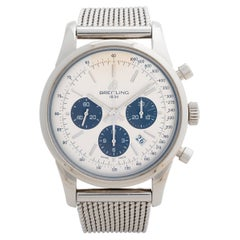 Breitling Transocean Chrono AB0152, Box & Papers, Excellent Condition