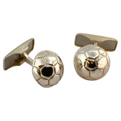 830 Silver Finland Fotball Cufflinks