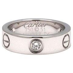 Cartier Love White Gold Diamond Ring