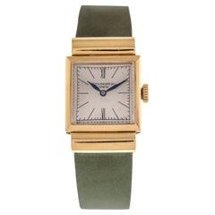 Patek Philippe Wrist Lady Watch 18 Carat Yellow Gold