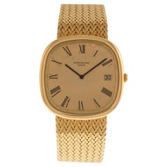 Patek Philippe Wrist Watch Automatic Ref. 3604-2 in 18 Carat Yellow Gold