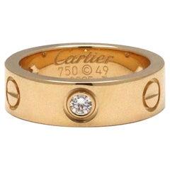 Cartier Love Yellow Gold Diamond Ring