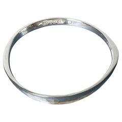 Silver Bracelet by Martin Öhlund, Sweden, 1975