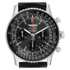 Breitling Navitimer 01 Grey Dial Limited Edition Mens Watch AB0121 Box Papers