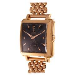 Rolex Wrist Watch Perpetual Super Precision Ref. 4645 Rose Gold with Bracelet