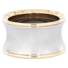 Bvlgari B.Zero1 Anish Kapoor 18k Rosegold Steel Band Ring