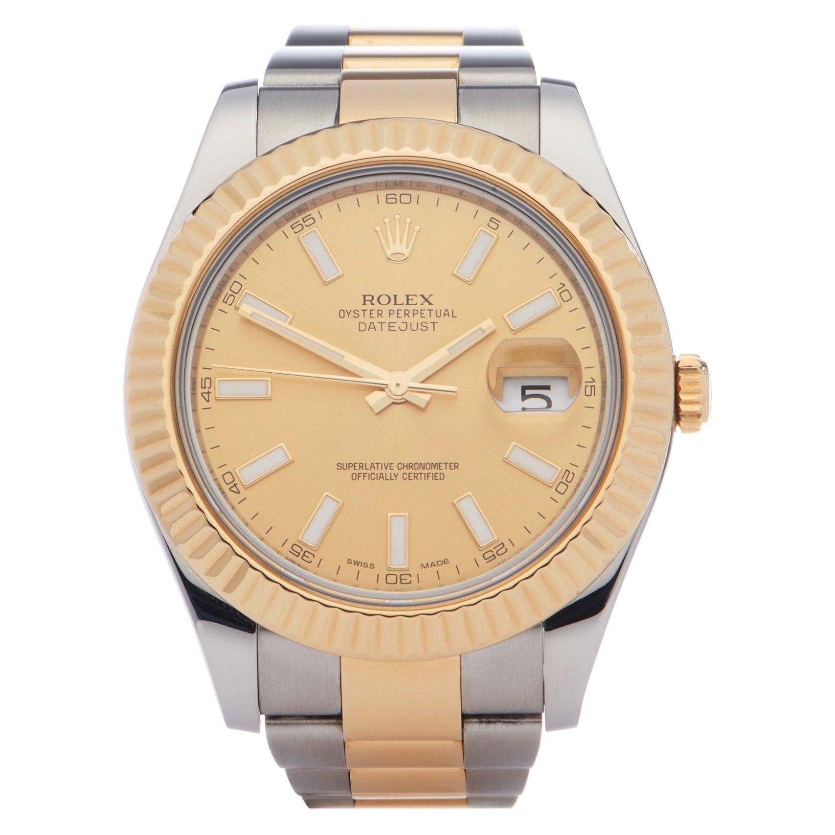 Rolex Datejust 41 116333 Men Stainless Steel 0 Watch