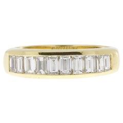 Vintage 1.5 Carat Baguette Diamond Ring