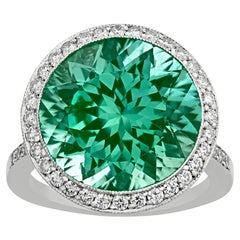 Green Tourmaline Ring by Tiffany & Co., 8.73 Carats