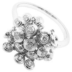 Cartier Diamond White Gold Diamant Leger De Ring