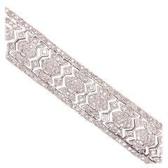 15.00 Carat Estate Diamond Bracelet