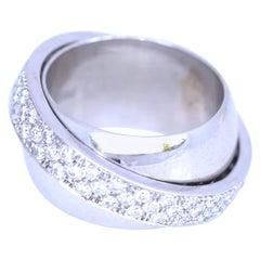 Piaget Possession 18K White Gold Diamonds Ring, 2010