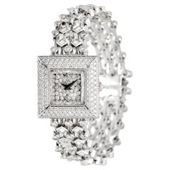 David Morris White Diamond Jewellery Bracelet Watch