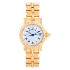 Breguet Marine Automatic Ladies 18k Yellow Gold Watch 8401BA/52/A40.DD00