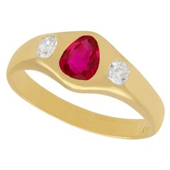 Ruby Cocktail Rings